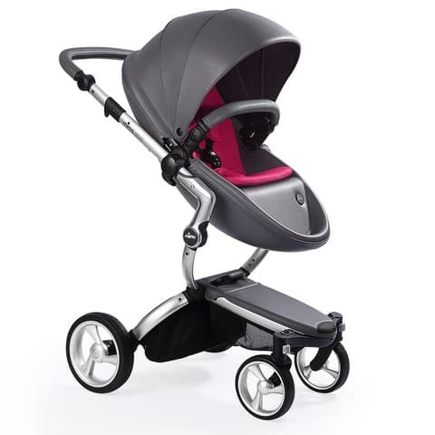 Mima Xari Aluminium/Cool Grey/Hot Magenta