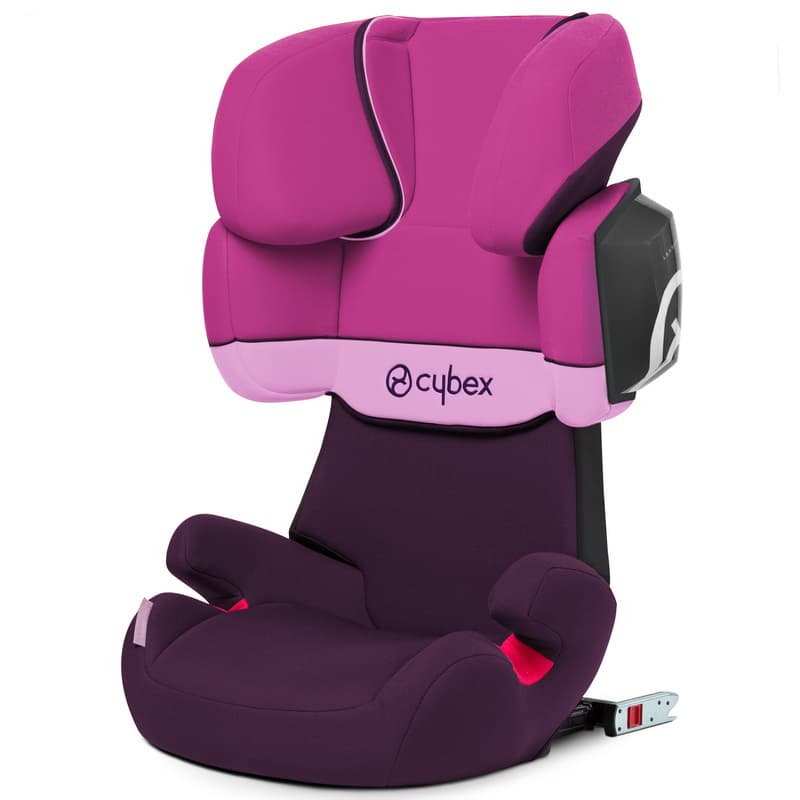 Cybex Solution X2-Fix Purple Rain