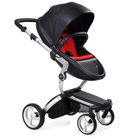 Mima Xari Aluminium/Black/Ruby Red