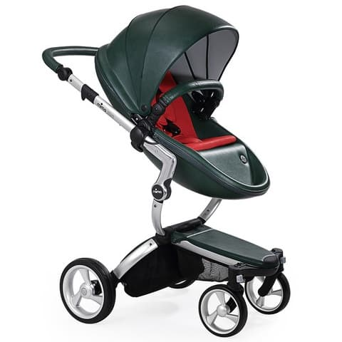 Mima Xari Aluminium/British Green/Ruby Red