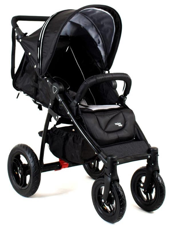 Valco Baby Quad X Midnight Black