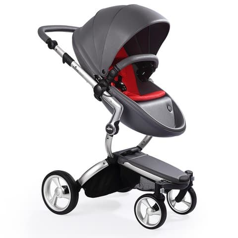 Mima Xari Aluminium/Cool Grey/Ruby Red