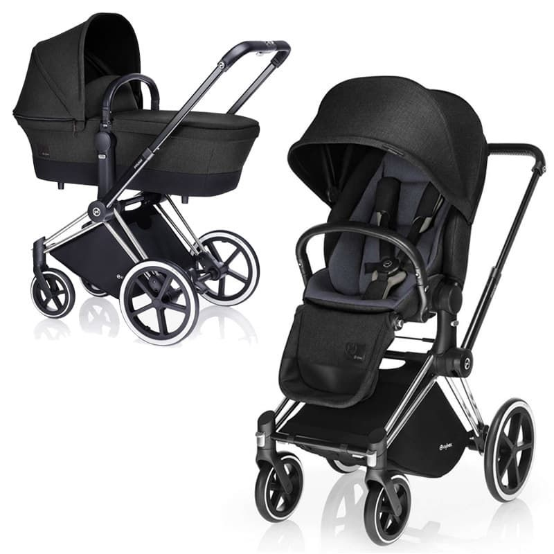 Cybex Priam Lux Black Beauty