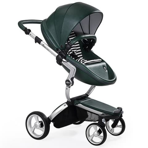 Mima Xari Aluminium/British Green/White Black