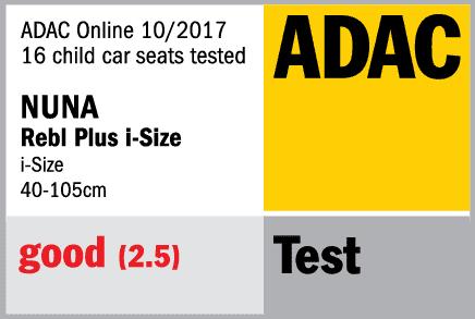 Nuna Rebl Plus краш-тест ADAC
